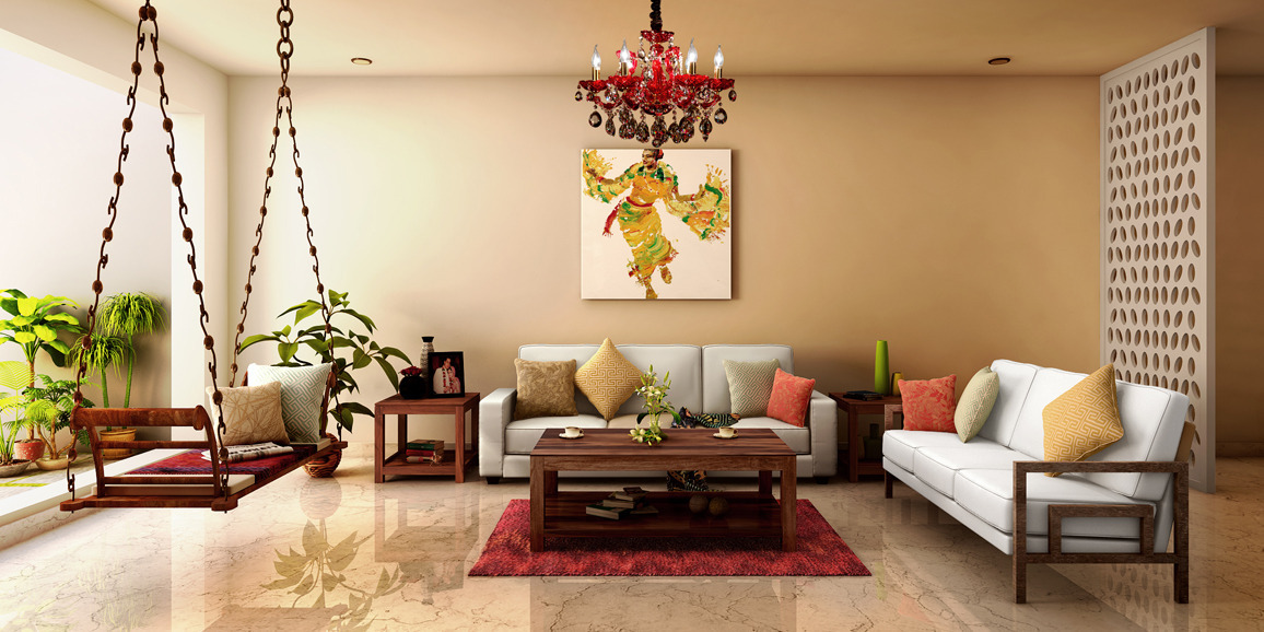 Contemporary living room designs online white out design Living room designs indian style