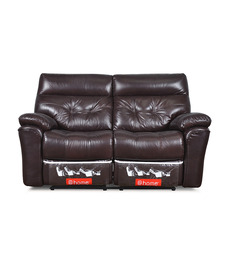 Beverly Two Seater Sofa With Two Recliner by @ Home