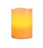 @ Home Brown Wax & Plastic Led Candle