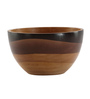 @ Home Brown Wood Swirl Vase