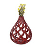 @ Home Pink Ceramic Earthy Wine Net Vase