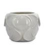 @ Home White Ceramic Homely Ink Stout Vase