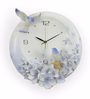 @ Home White Resin 15.4 x 4.3 x 16.1 Inch Birds of Freedom Analog Wall Clock