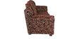 (1 + 3 + 1) Seater Sofa Set in Dark Brown Colour by Karigar