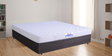 (Protector Free)  5 Inches Coir Folding Queen Mattress in Grey Colour by Springtek Ortho Coir