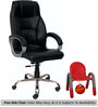 (Free Kid Chair)Fashional Executive High Back Chair in Black Color By VJ Interior