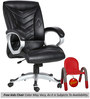 (Free Kid Chair)He Estrella Executive High Back Chair Black color by VJ Interior