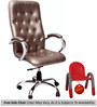 (Free Kid Chair)Posse Executive High Back Chair in Grey Color By VJ Interior