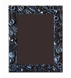 10am Black Wooden 6 x 8.2 Inch Single Photo Frame