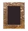 10am Gold Wooden 6 x 8.2 Inch Single Photo Frame