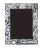 10am Silver Wooden 6 x 8.2 Inch Single Photo Frame