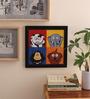 10am Wood & Canvas 10 x 0.5 x 8 Inch Dog Bone Framed Digital  Digital Art Print