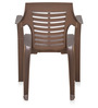6020 Chair Set of Six in Brown Colour by Nilkamal