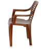 6020 Chair Set of Six in Pear Wood Colour by Nilkamal
