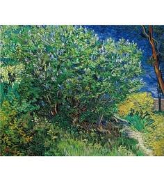 64Arts Canvas 16 x 14 Inch Lilacs by Vincent Van Gogh Unframed Digital Art Print