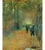 64Arts Canvas 10 x 16 Inch The Hunt by Claude Monet Unframed Digital Art Print