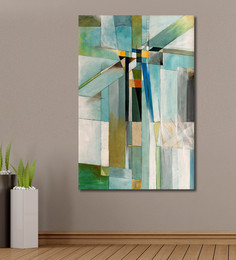 999Store Vinyl 48 X 0.4 X 72 Inch Abstract Painting Unframed Digital Art Print - 1505216