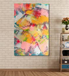 999Store Vinyl 48 X 0.4 X 72 Inch Abstract Painting Unframed Digital Art Print - 1505210