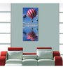 999Store Sun Board 15 x 17 Inch Colorful Air Balloon Durable Painting - Set of 2