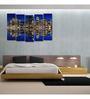 999Store Sun Board 10 x 29 Inch City Reflection Sturdy Wall Art - Set of 5