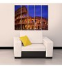 999Store Sun Board 10 x 29 Inch Colosseum Sturdy Wall Art - Set of 5
