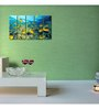 999Store Sun Board 10 x 29 Inch Yellow Fish Durable Painting - Set of 5