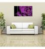 999Store Sun Board 10 x 29 Inch Purple Flower Durable Painting - Set of 5