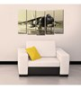 999Store Sun Board 10 x 29 Inch Fighter Plane Sturdy Wall Art - Set of 5