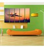 999Store Sun Board 10 x 29 Inch Jumbo Plane Durable Painting - Set of 5