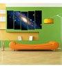 999Store Sun Board 10 x 29 Inch Distant Galaxy Sturdy Wall Art - Set of 5