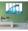 999Store Sun Board 10 x 29 Inch Water Wave Sturdy Wall Art - Set of 5
