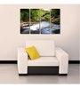 999Store Sun Board 10 x 29 Inch Frost Waterfall Wear & Tear Resistant Painting - Set of 4