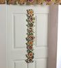 999Store Multicolour Wooden Handmade Flower Bandanwar Toran