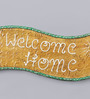 999Store Multicolour Wooden Welcome Home Name Plate Door Hanging Handicraft