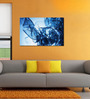 999Store Icy Water Pvc Vinyl 35 x 24 Inch Wooden Framed Digital Art Print