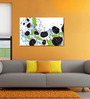 999Store Grapes In The Water Pvc Vinyl 35 x 24 Inch Wooden Framed Digital Art Print