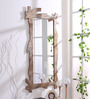 999Store Silver Wooden Hand Crafted Painted Antique Decorative Wall Mirror