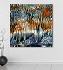 999Store Vinyl 48 x 0.4 x 48 Inch Abstract Painting Unframed Digital Art Print