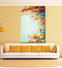 999Store Vinyl 48 x 0.4 x 72 Inch Colourful Foliage in The Autumn Park Painting Unframed Digital Art Print