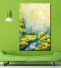 999Store Vinyl 48 x 0.4 x 72 Inch Forest River Painting Unframed Digital Art Print
