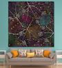 999Store Vinyl 60 x 0.4 x 60 Inch Spider Web Painting Unframed Digital Art Print