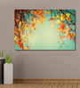 999Store Vinyl 72 x 0.4 x 48 Inch Autumn Trees Leaves Painting Unframed Digital Art Print