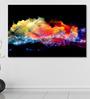 999Store Vinyl 72 x 0.4 x 48 Inch Clouds of Fractal Foam & Abstract Lights Painting Unframed Digital Art Print