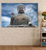 999Store Vinyl 72 x 0.4 x 48 Inch The Face of Buddha Painting Unframed Digital Art Print