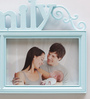 Aapno Rajasthan Blue Acrylic Stylish 2 Pictures Collage Photo Frame