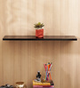 Aapno Rajasthan Brown MDF Lovely & Glossy Wall Shelf