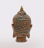 Aapno Rajasthan Brown Resin Rich Look Buddha Showpiece