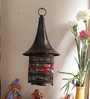 Aapno Rajasthan Copper Metal Hat Shaped Tea Light Holder