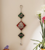 Aapno Rajasthan Multicolour Metal Wall Hanging with Ganesh Motif