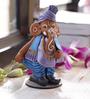 Aapno Rajasthan Multicolour Terracotta Ganesh in Muneem Look